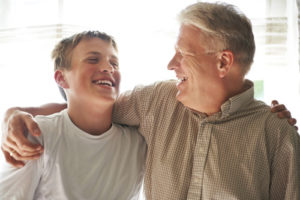 That special bond between a grandfather and his grandson